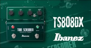 TS808DX Tube Screamer w/Booster - efekt gitarowy