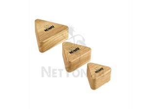 NINO508 WOOD SHAKERS, Triangular